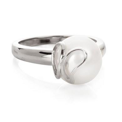 Кольцо «Бабочка из серебра»
