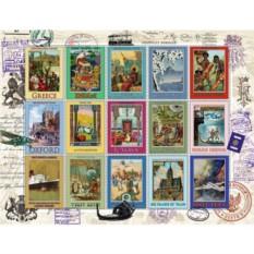 Пазл Коллекция марок 2000 шт., Ravensburger