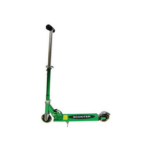 Самокат Scooter X 8208 зелёный