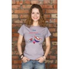 Женская футболка с вашим текстом Чаепитие