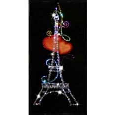 Картина с кристаллами Из Парижа с любовью