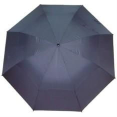 Чёрный двойной зонт