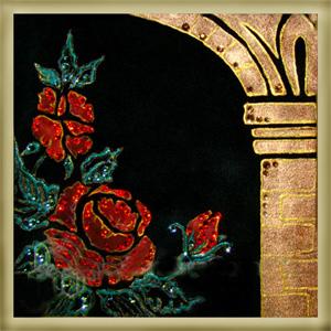 Картина из кристаллов «Цветы Ариадны»