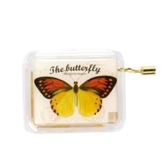 Музыкальная коробочка Butterfly Yellow