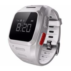 Белые часы-телефон с gps для детей от Wochi