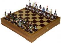 Шахматы подарочные Бородинское сражение