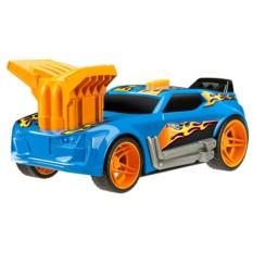 Электромеханическая машинка на батарейках Синяя