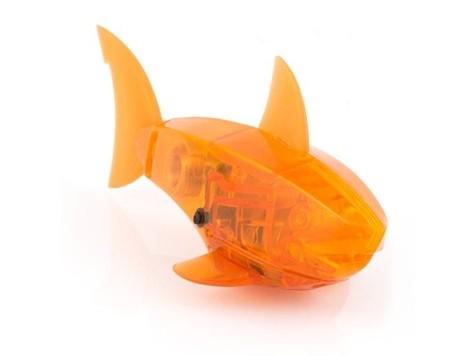 Робот-рыбка, оранжевая