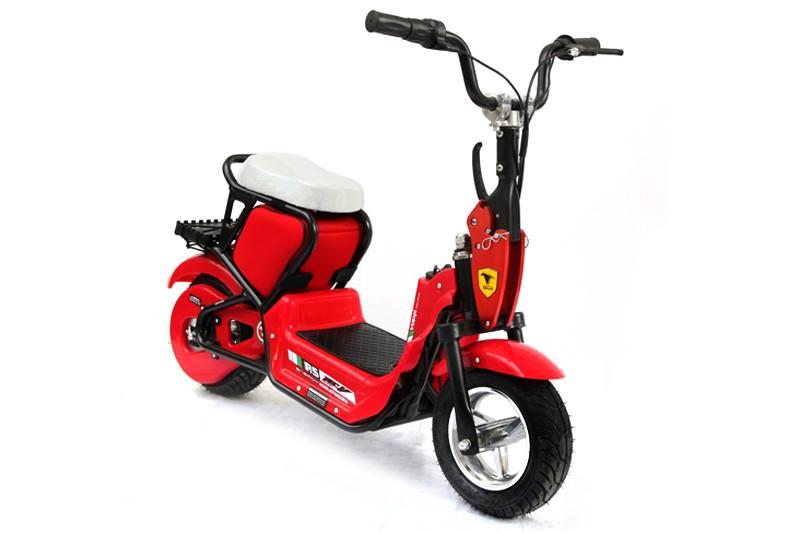 Красный детский электромотоцикл MC-242 (Joy Automatic)