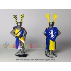 Оловянный солдатик Рыцарь-гость Тевтонского ордена XIII в.
