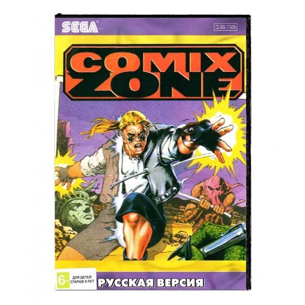 Игра Comix Zone (Sega)