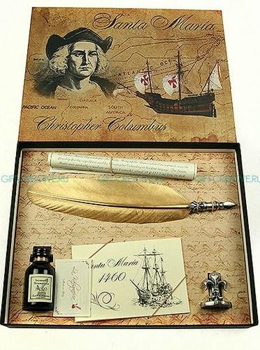 Подарочный набор для письма Христофор Колумб