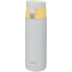 Бело-желтая термокружка JMX-500