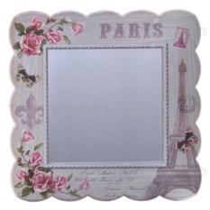 Настенное зеркало Paris с изображением цветов
