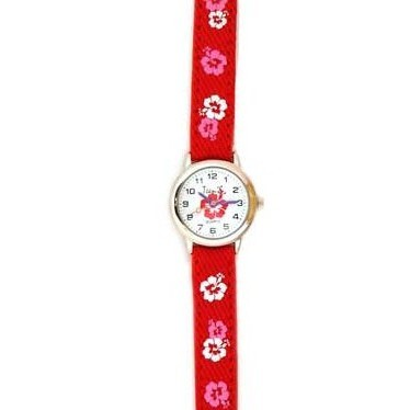 Часы «Бордовые цветы» Tik-Tak
