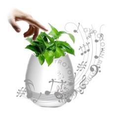 Белый умный горшок с Bluetooth Smart Music Flowerpot