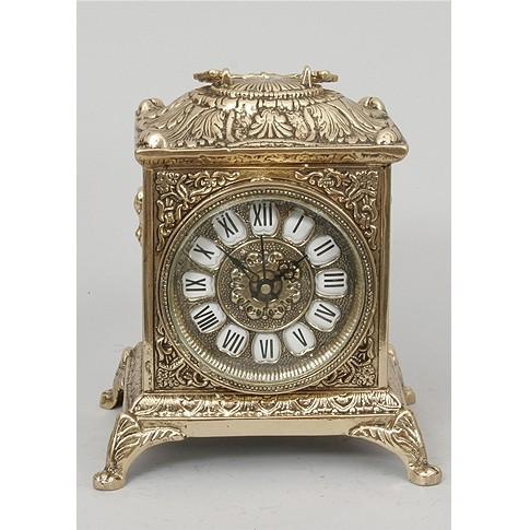 Часы каминные бронзовые квадратные