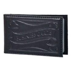 Черная карманная визитница на 32 карточки