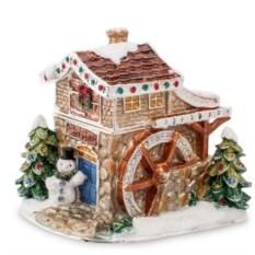 Шкатулка Снежный домик