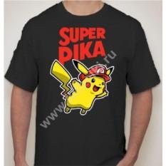 Мужская футболка с Пикачу super pika