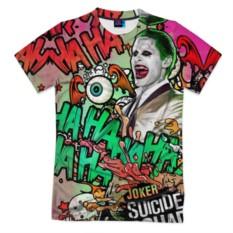 Мужская футболка 3D с полной запечаткой Отряд самоубийц