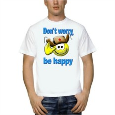 Футболка Dont worry, Be happy