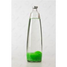 Колба для лава-лампы (цвет воска — зеленый)