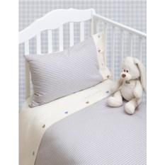 Детское трикотажное постельное белье Luxberry