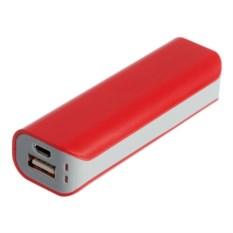 Внешний аккумулятор Shape 2600 мАч (цвет — красный)