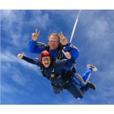 Прыжок с парашютом в тандеме с 4000 метров с фото и видео