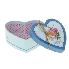 Подарочная коробка Сердце. Розы