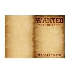 Тетрадь для блоков Wanted