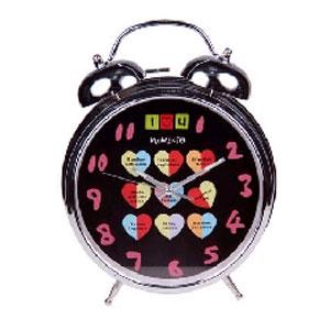Часы настольные «Сердечные послания»