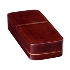 Кожаный коричневый чехол для 3 ручек Visconti