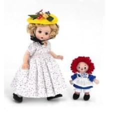 Кукла Madame Alexander Марселла с тряпичной Энни