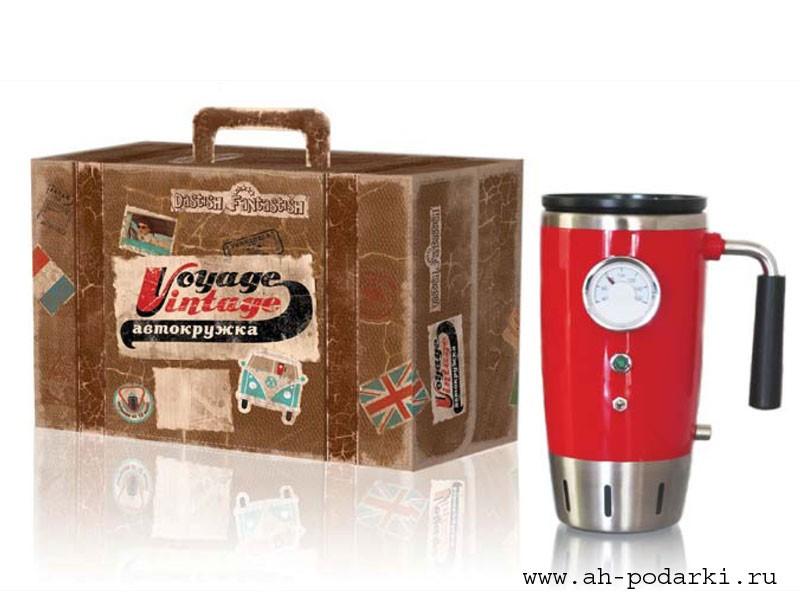 Автокружка Voyage Vintage с дисплеем