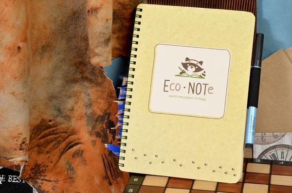 Многоразовая бежевая тетрадь EcoNote