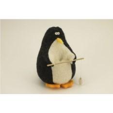 Авторская игрушка Пингвин-рыбак