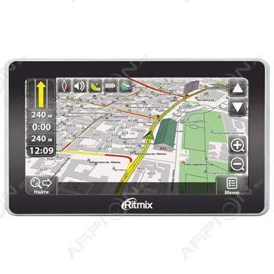 Автомобильный GPS-Навигатор RITMIX RGP-685 Navitel