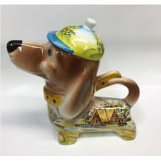 Чайник в форме собаки Весна