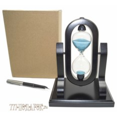 Песочные часы с переворотом на 5 минут (высота 18см)