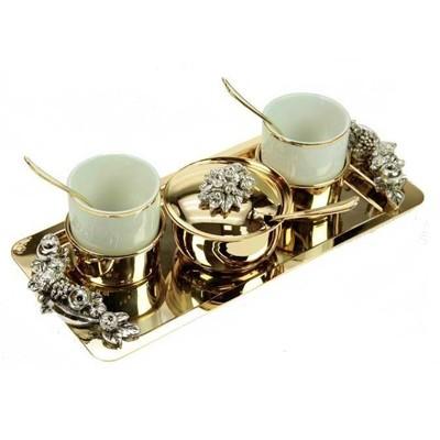 поздравления к подарку кофейный набор узколистный