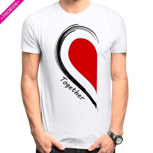 Мужская футболка Stedman Together forever first