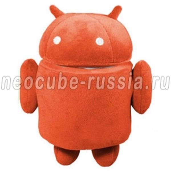 Красная мягкая игрушка Android