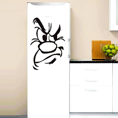 Наклейка Злой Холодильник