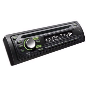 Pесивер Sony CDX-GT227EE CD/MP3