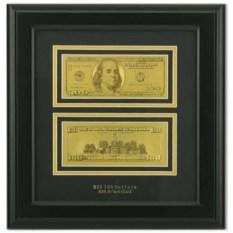 Картина с банкнотами США