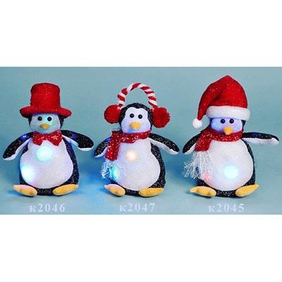 Фигурка Пингвин  в наушниках