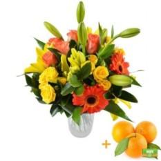 Букет цветов Золото