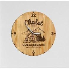 Именные настенные часы Chalet
